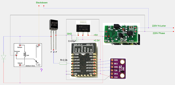 gschem_project_5V-relay_added-capacitor